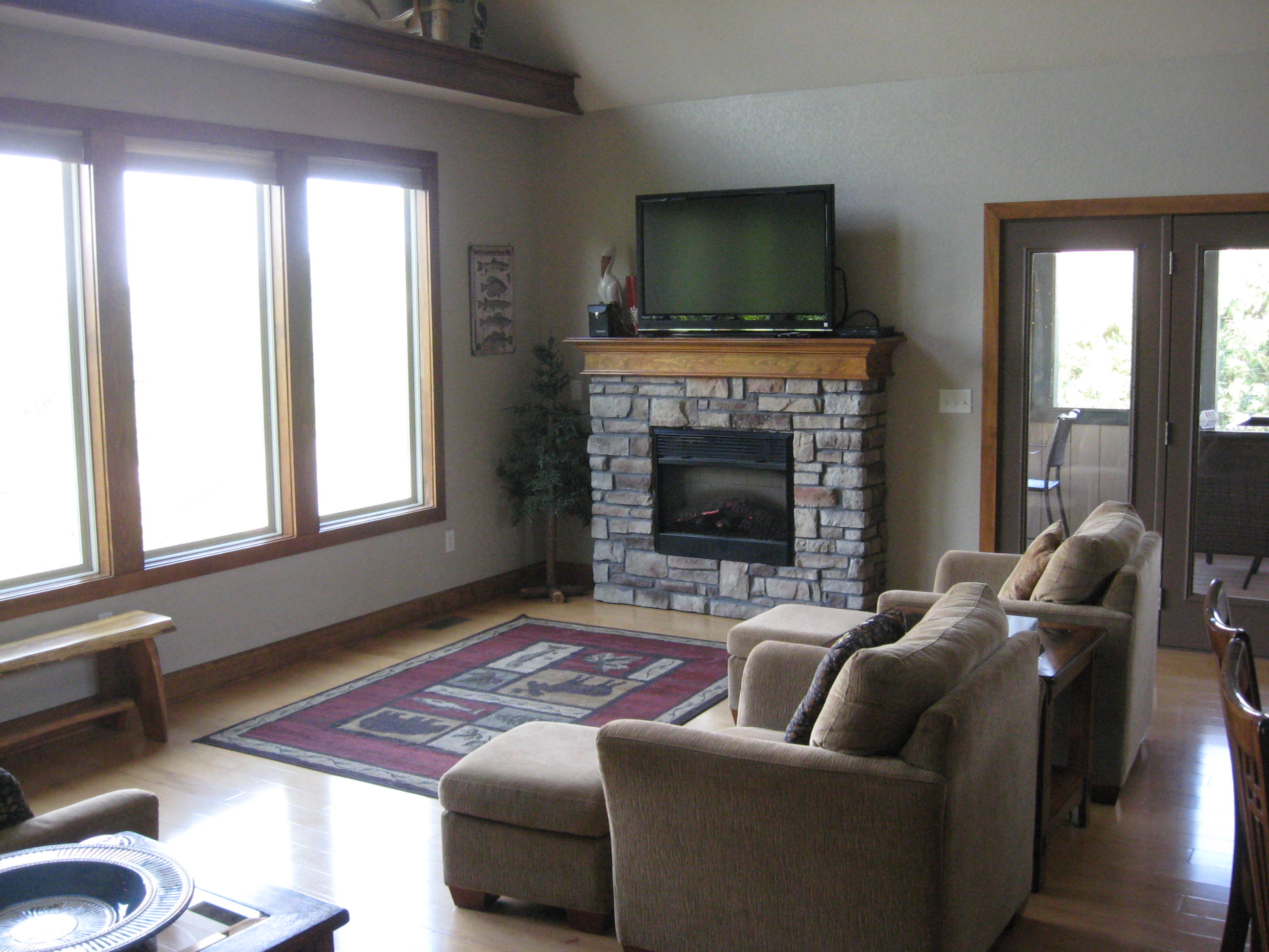 branson canyon vacation rental Alpine Lakeview - Living Room