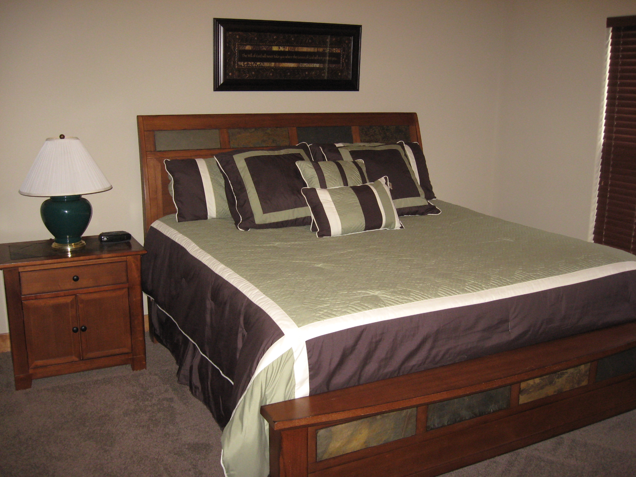 Branson Canyon Vacation Rentals GAL Master Bedroom