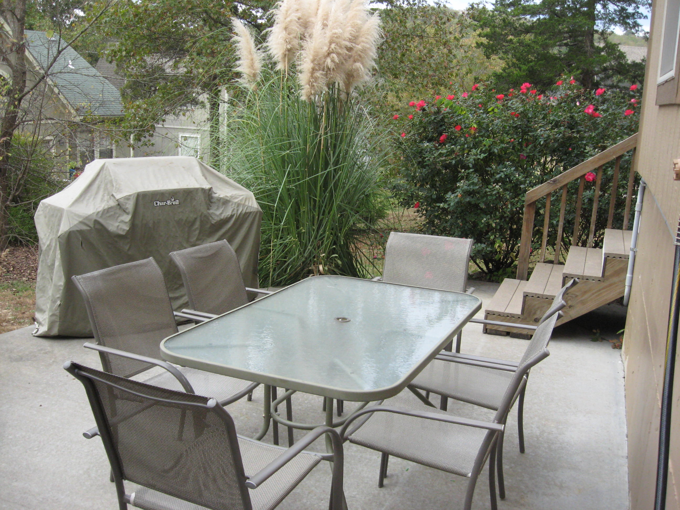 Branson Canyon Vacation Rentals GAL Patio