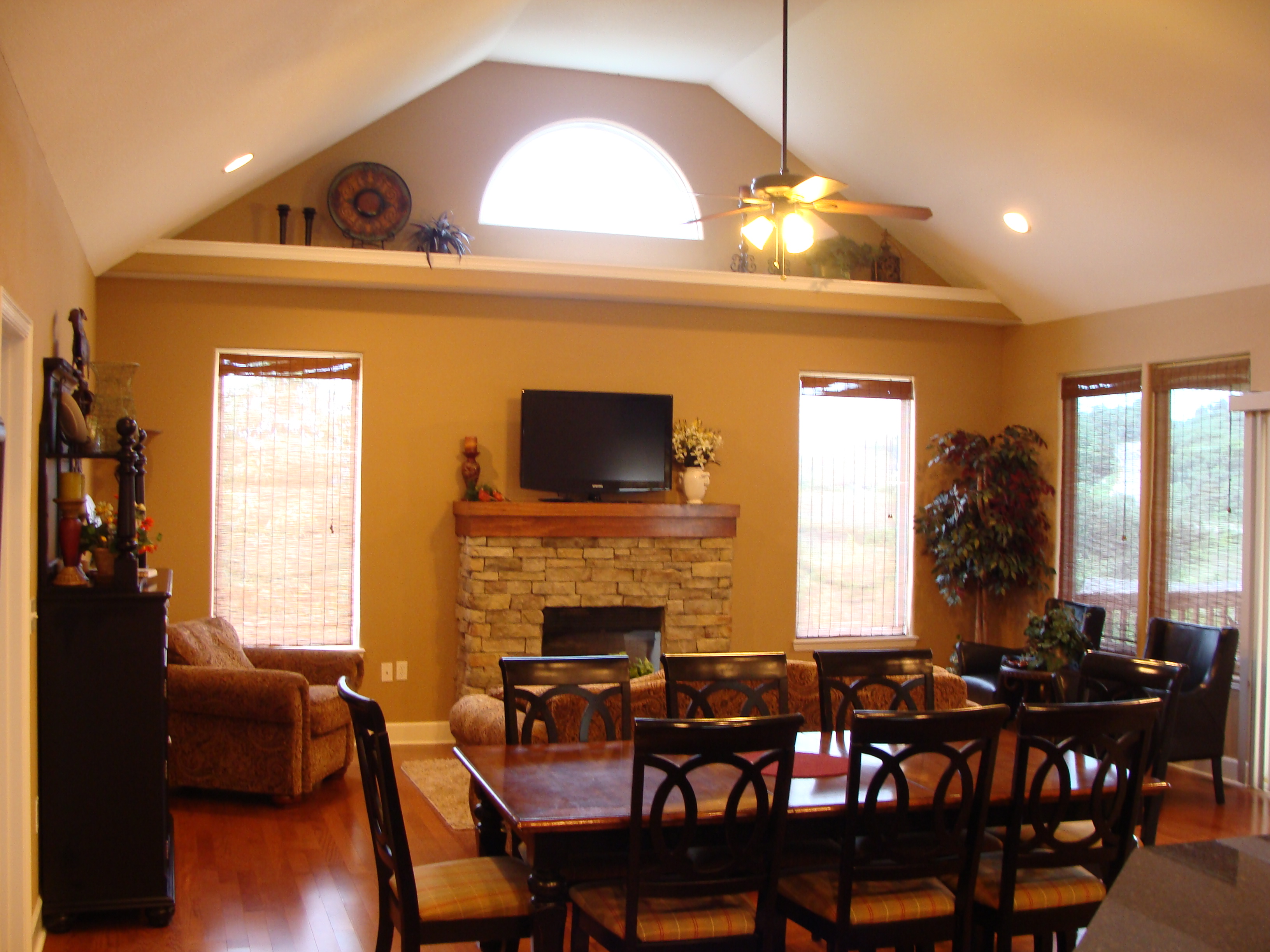 Branson Canyon Vacation Rentals Reunion Rendezvous Great Room