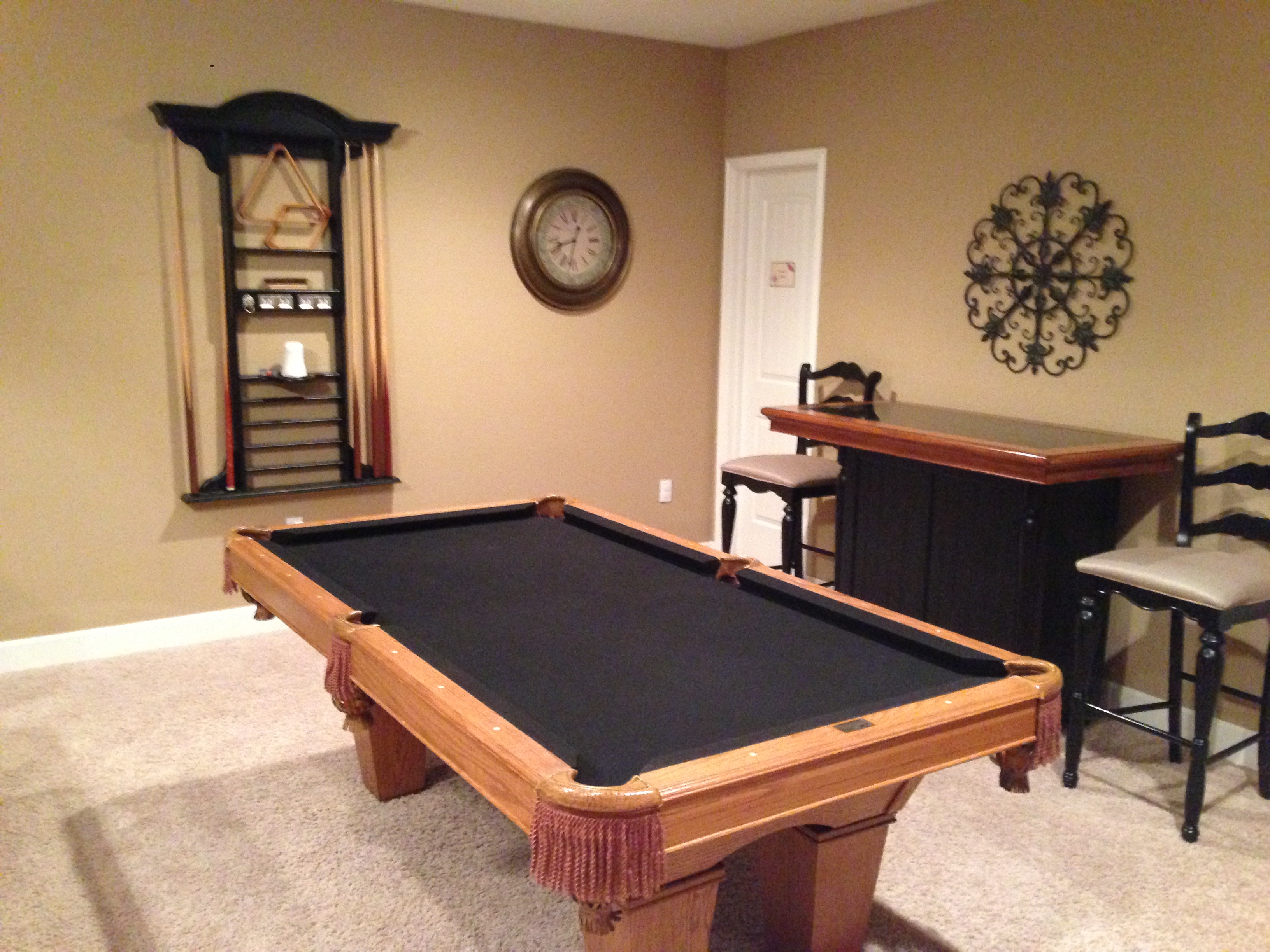 Branson Canyon Vacation Rentals Reunion Rendezvous Pool table
