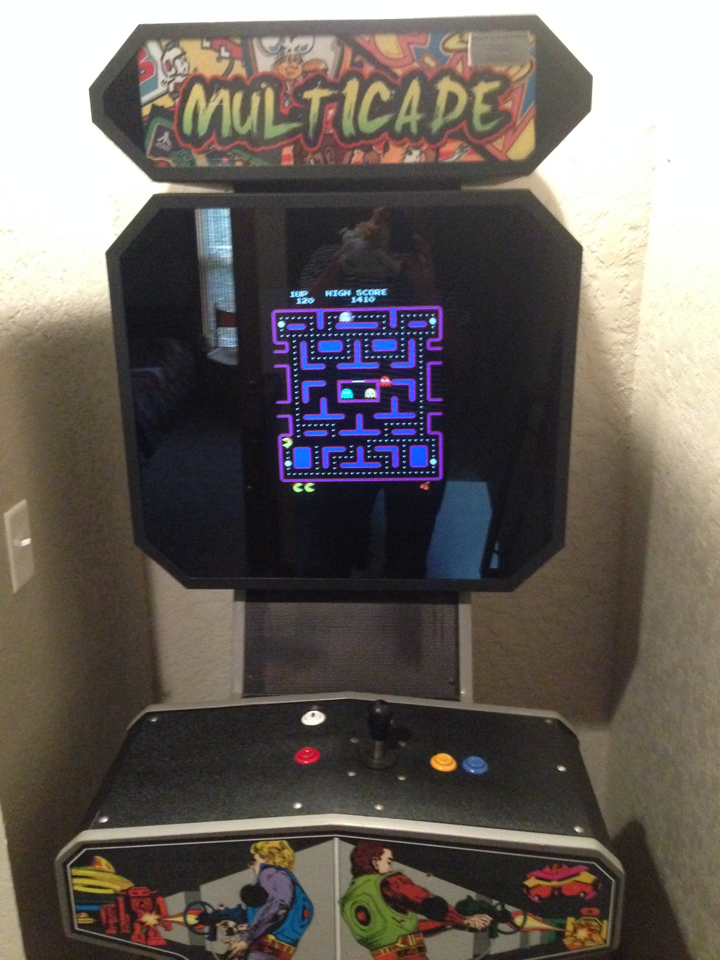 branson canyon vacation rental Alpine Lakeview Retro video game console